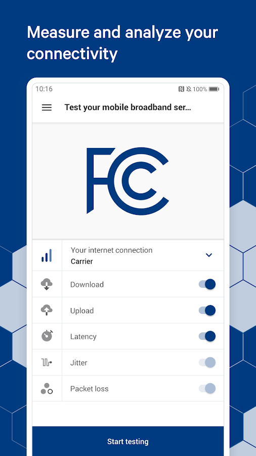 FCC Speed Test 2.0.2465