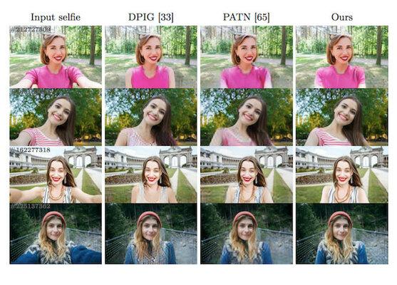 Новый алгоритм превращает селфи вобычные портретные фотографии