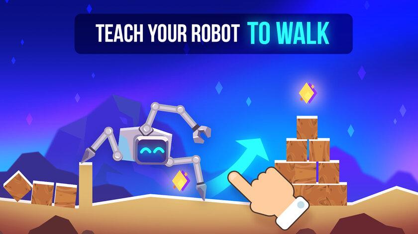 Авторы Cut the Rope иC.A.T.S выпустили игру про бои роботов наAndroid иiOS