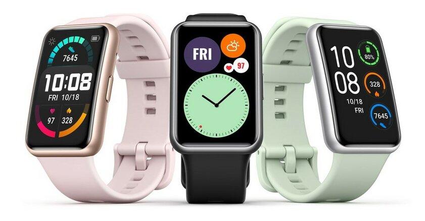 Huawei представила необычные фитнес-часы Watch Fit стоимостью чуть более 100 долларов