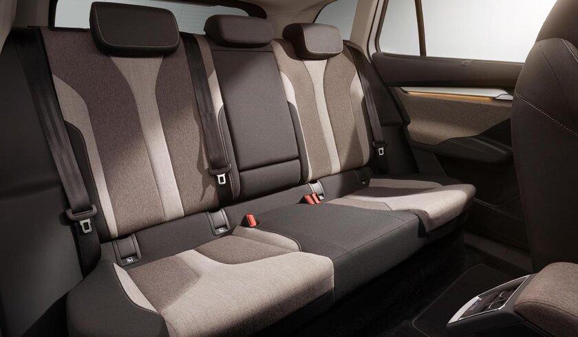 Skoda Enyaq iV рассекретили доанонса: электрический кроссовер сноздрями BMW