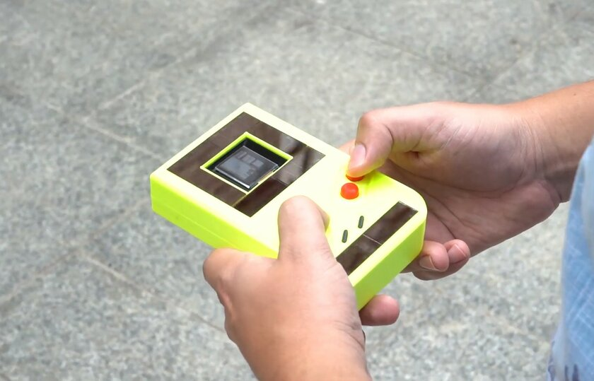 Учёные создали свою версию Game Boy, которая никогда неразряжается