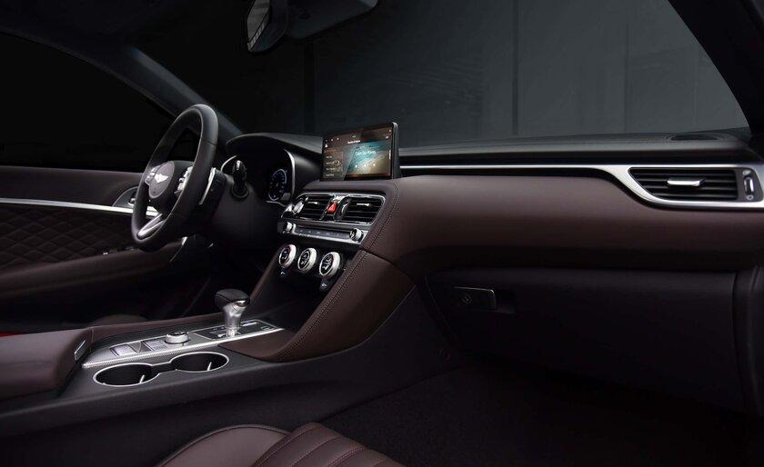 Genesis представила обновлённый дизайн седана G70