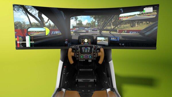 Aston Martin выпустил гоночный симулятор, который стоит как дорогой автомобиль