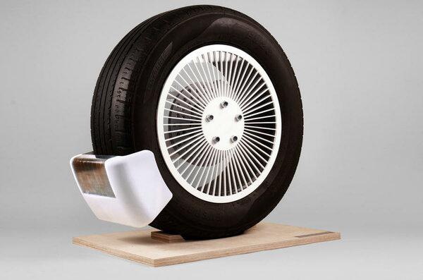 Премию Джеймса Дайсона присудили устройству, уменьшающему выбросы отпокрышек