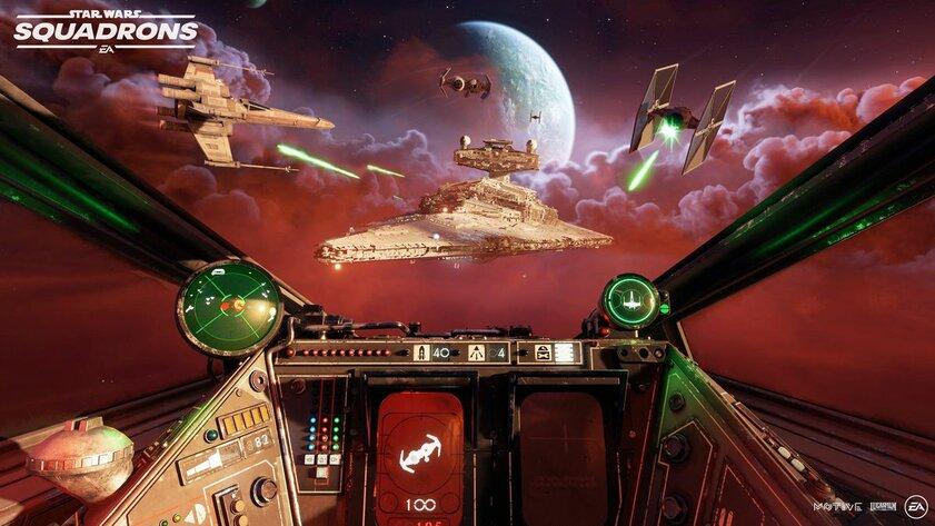 Star Wars: Squadrons вышла наПК иконсолях: пора навзлёт