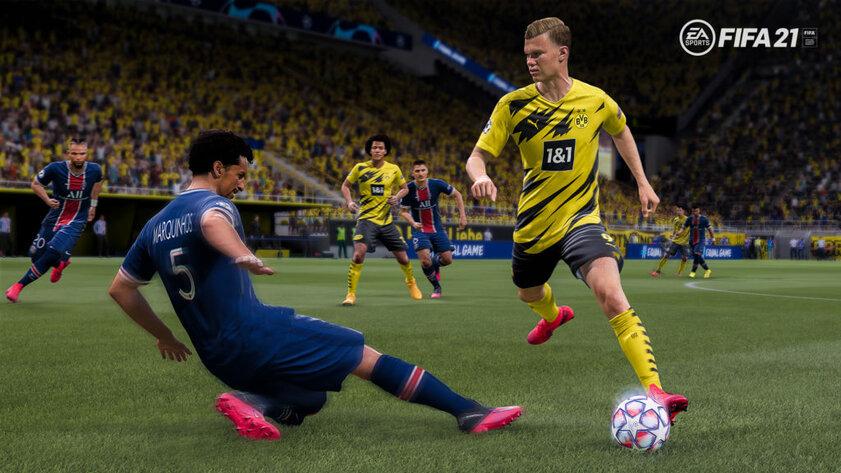 Время футбола: FIFA 21 вышла наПК иконсолях