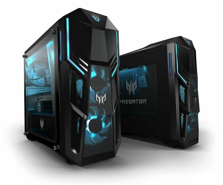 Линейка игровых настольных ПК Acer Predator Orion получила графику NVIDIA GeForce RTX 30