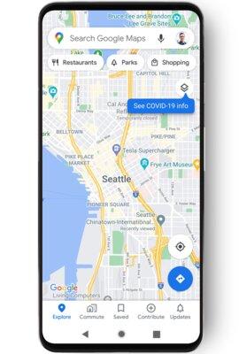 Google Карты научились отображать зоны распространения коронавируса: как посмотреть их