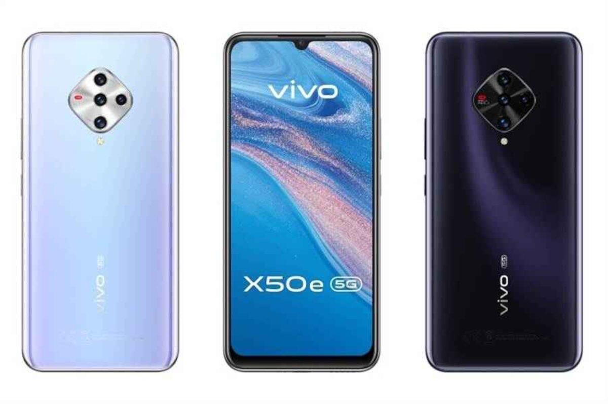Vivo анонсировала X50e 5G скамерой на48 Мп, AMOLED-дисплеем иSnapdragon 765G
