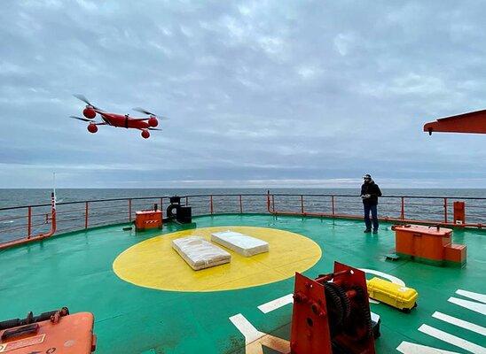 Российские дроны начнут использовать дляисследования Арктики