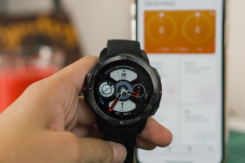 Обзор HONOR Watch GS Pro: датчик кислорода и25 дней автономности заполцены Apple Watch — Технические характеристики. 13