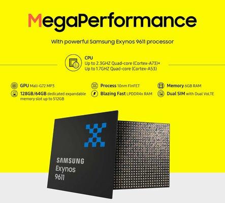 Amazon раскрыл Galaxy M31 Prime— смартфон ничем неудивляет