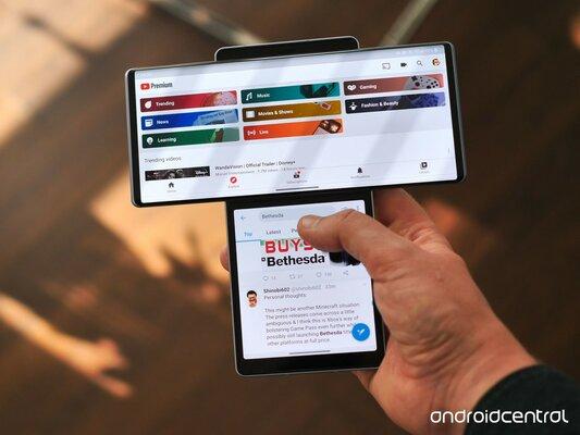 Обзор LG Wing— смартфона споворотным дисплеем. Будущее или неудачный эксперимент? — Аппаратное обеспечение. 3