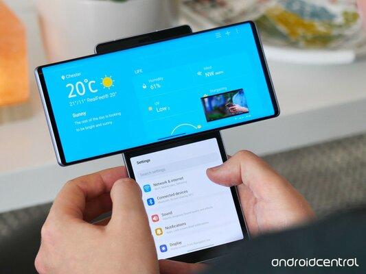 Обзор LG Wing— смартфона споворотным дисплеем. Будущее или неудачный эксперимент? — Программное обеспечение. 3
