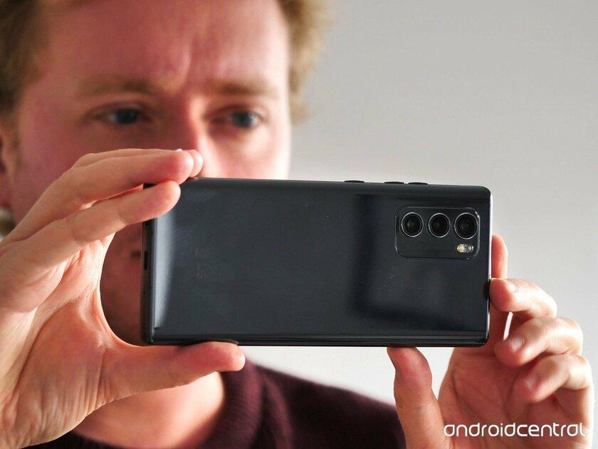 Обзор LG Wing— смартфона споворотным дисплеем. Будущее или неудачный эксперимент? — Камеры. 1