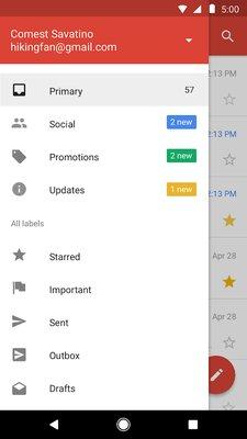 Облегчённая версия Gmail дляслабых устройств теперь доступна всем вGoogle Play