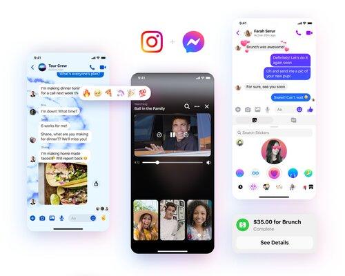 Facebook Messenger получил новый дизайн идополнительные функции