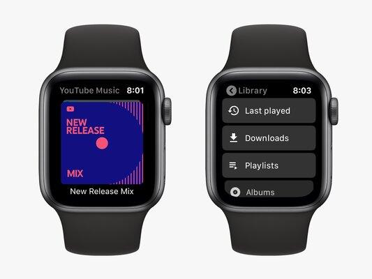 YouTube Music показывает, что дляGoogle важнее Apple Watch, чем собственная Wear OS