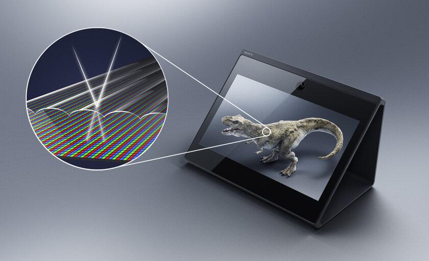 Sony показала 3D-дисплей, нетребующий специальных очков