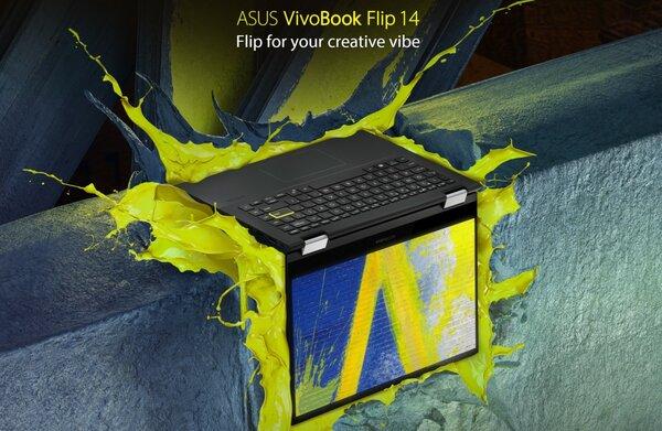 Представлен ASUS VivoBook Flip 14— первый ноутбук сдискретной видеокартой Intel
