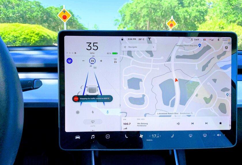 Tesla начинает рассылать обновление, активирующее полный автопилот— безучастия водителя