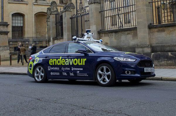 В Великобритании испытают полностью беспилотный Ford Mondeo