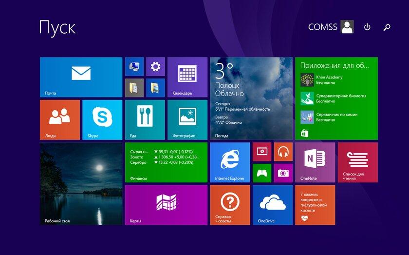 Windows 8 исполнилось 8 лет: плитки, которые провалились