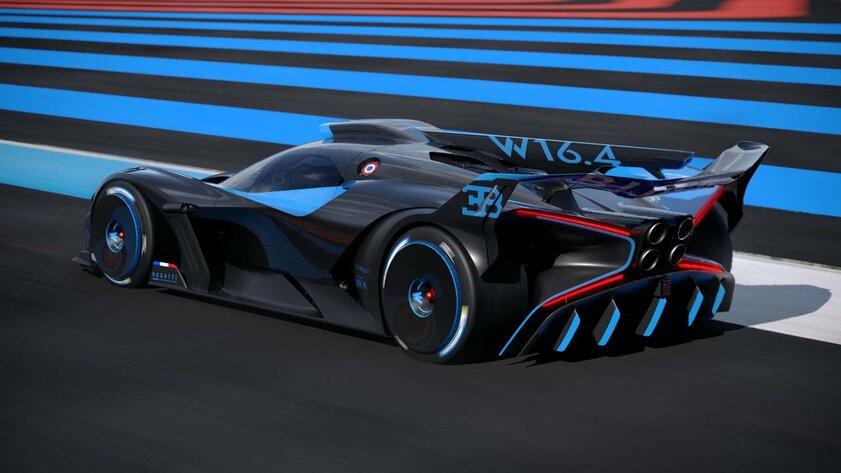 Bugatti представила гиперкар Bolide: 1825 лошадиных сил привесе 1240 килограммов
