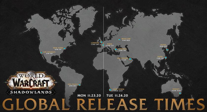 Опять неуспели: Shadowlands дляWorld of Warcraft перенесли намесяц вперёд