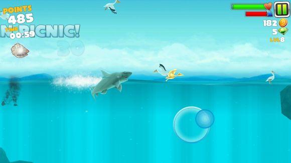 Скачать на андроид игру hungry shark