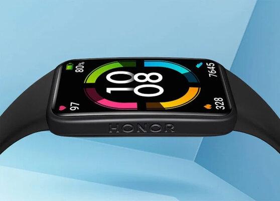 Представлен фитнес-браслет HONOR Band 6 сNFC ибезрамочным экраном