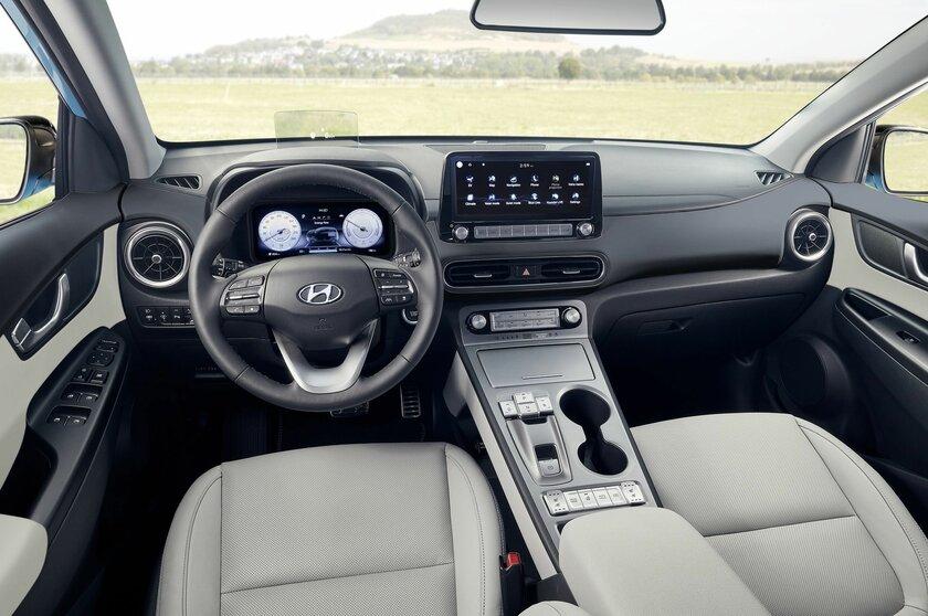 Hyundai представила новую Kona Electric: слегка изменённый дизайн иухудшенные характеристики