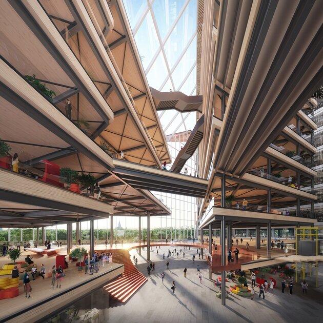 Лестницы изГарри Поттера ипрозрачные стены— власти одобрили строительство новой штаб-квартиры Яндекса