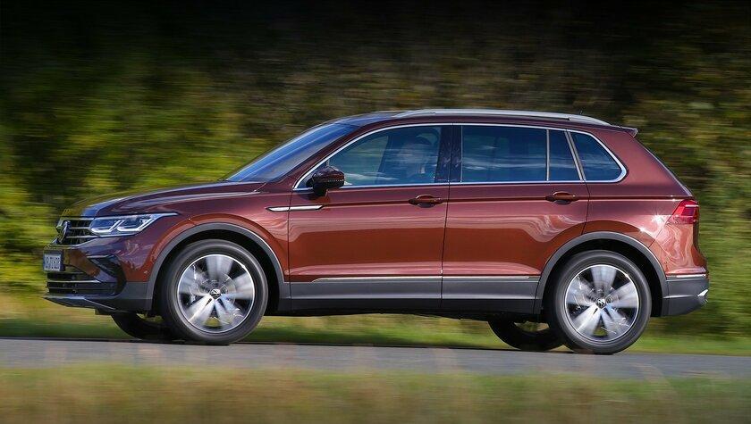 Volkswagen представила вРоссии новый Tiguan: 4 комплектации и4 двигателя