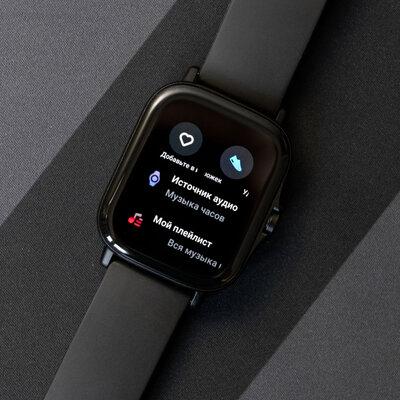 Тестируем миниатюрные умные часы Amazfit GTS 2 спульсоксиметром. Есть спорные моменты