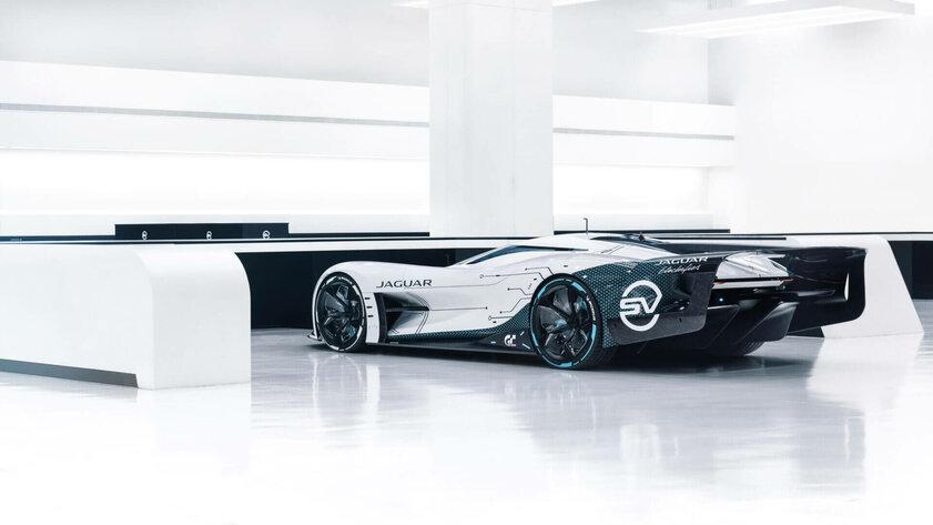 Jaguar перенесла автомобиль изигры Gran Turismo вреальность. Встречайте Vision GT SV