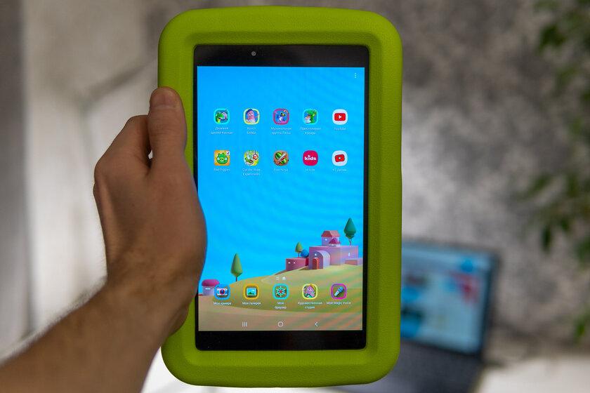 Недорогой, противоударный инадёжный. Тестируем детский планшет Galaxy TabA 8.0 Kids Edition — Особенности детского планшета. 4