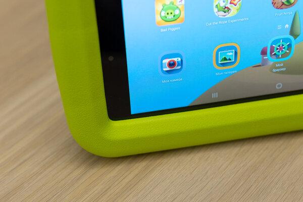 Недорогой, противоударный инадёжный. Тестируем детский планшет Galaxy TabA 8.0 Kids Edition — Особенности детского планшета. 3