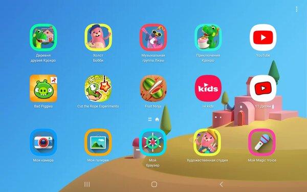 Недорогой, противоударный инадёжный. Тестируем детский планшет Galaxy TabA 8.0 Kids Edition — Особенности детского планшета. 7