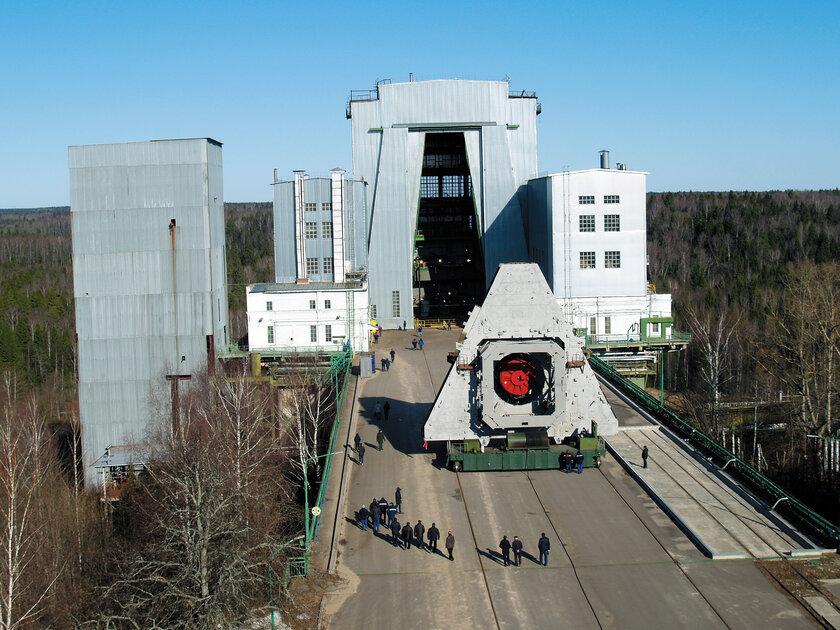 Один иззаключительных этапов испытания российской ракеты-носителя Ангара-1.2 прошёл успешно