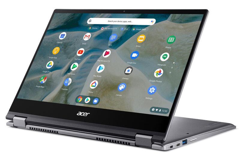 Сенсорный экран, Chrome OS, AMD ивоенный стандарт: Acer представила Chromebook Spin 514