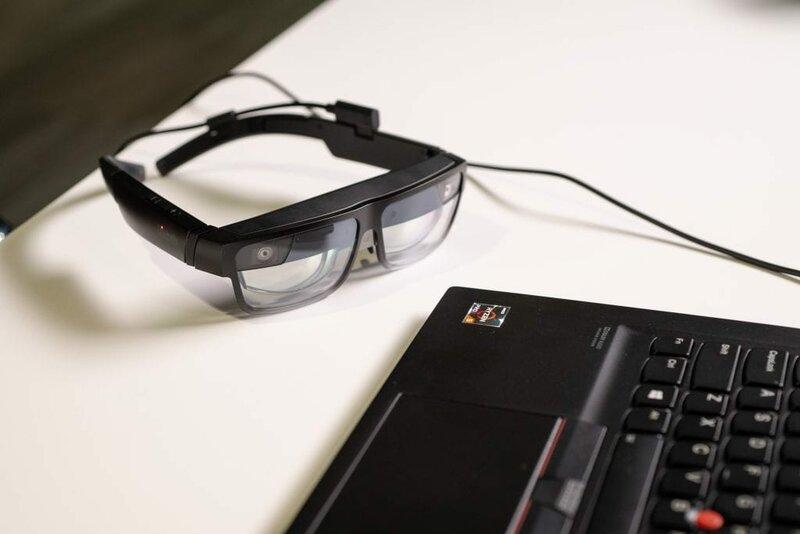 Lenovo показала наCES 2021 умные очки ThinkReality A3 длябизнеса