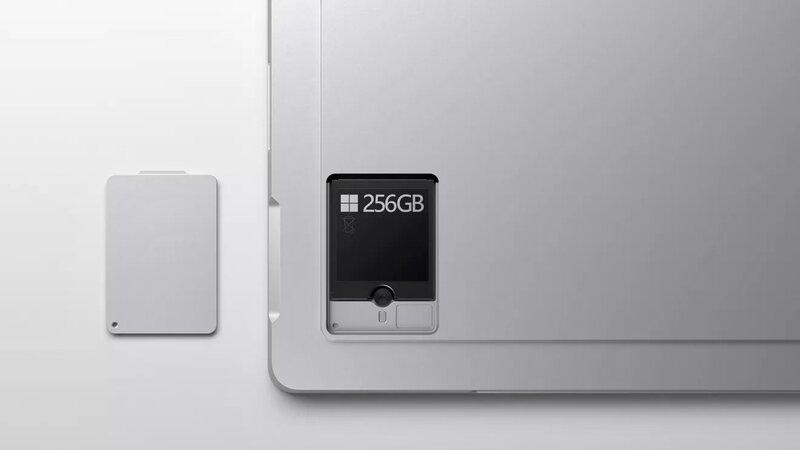 Новый планшет отMicrosoft получил съёмный SSD
