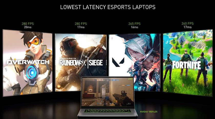 Laptops with GeForce RTX 30 graphics cards will outperform PlayStation 5