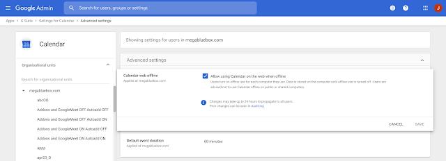 Сайт Google Календаря теперь работает ибез подключения кинтернету