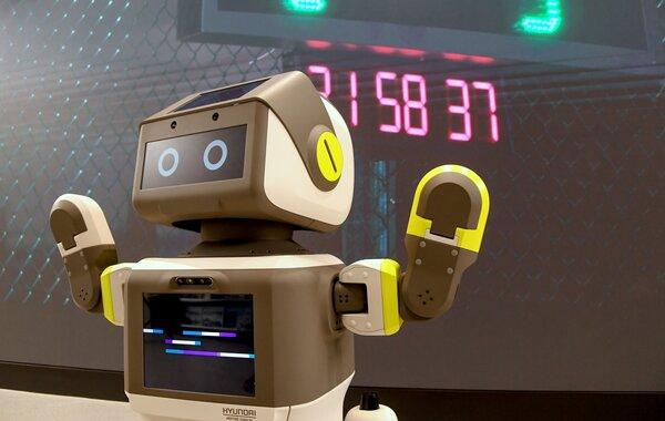 Hyundai представила робота, который обслуживает клиентов вавтосалонах