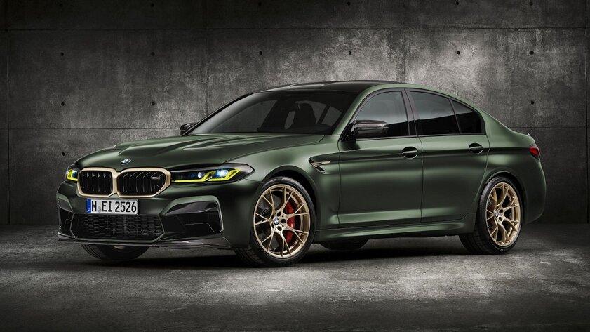 BMW представила самый мощный седан М-линейки: 635 лошадиных сил идо сотни за3 секунды
