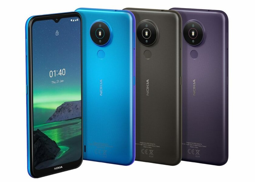Nokia 1.4 presented: extremely cheap smartphone on Android 10 Go