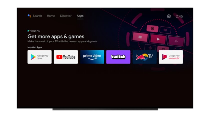 Android TV получил обновление истал похож наGoogle TV